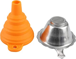 فیلتر رزین چاپگر سه بعدی ، لوازم جانبی چاپگر 3D فیلتر قیف فیلتر حساس به رزین ترکیبی از نور قابل مصرف فیلتر مصرفی ، فنجان فیلتر رزین قیف سیلیکون یکبار مصرف برای چاپگر سه بعدی Anycubic / ELEGOO