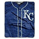 MLB Kansas City Royals 'Jersey' Raschel Throw Blanket, 50' x 60'
