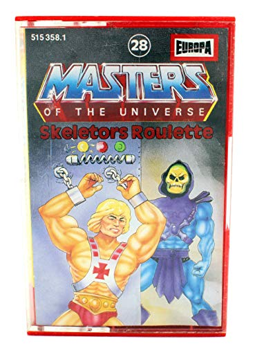 Masters of the Universe Hörspiel Kassette MC # 28: Skeletors Roulette (HE-Man)