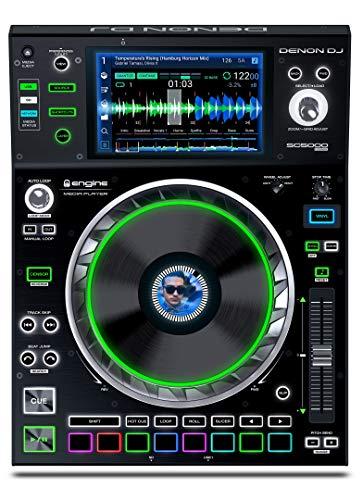 DENON DJ SC5000-PRIME - Reproductor multimedia para DJ USB SD con pantalla HD 7