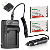 Kastar 2X Battery + Charger for Casio N-P20 & Exilim EX-M1 EX-M2 EX-M20 EX-S1 EX-S2 EX-S3 EX-S20EX-S600 EX-S770 EX-S880 EX-Z3 EX-Z4 EX-Z5 EX-Z6 EX-Z7 EX-Z8 EX-Z11 EX-Z60 EX-Z65 EX-Z70 EX-Z75 EX-Z77