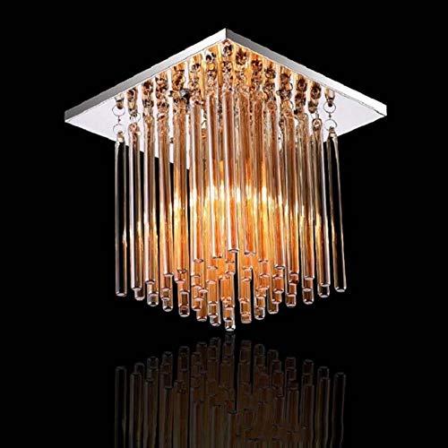 Niedriger Preis Tischlampe Nachttischlampe Kristallleuchter Pendelleuchte Wandstrahler Wandleuchten Kristall Deckenleuchte Moderner Minimalistischer Gang Balkon Korridor Led Pendelleuchte Quadrat Dec