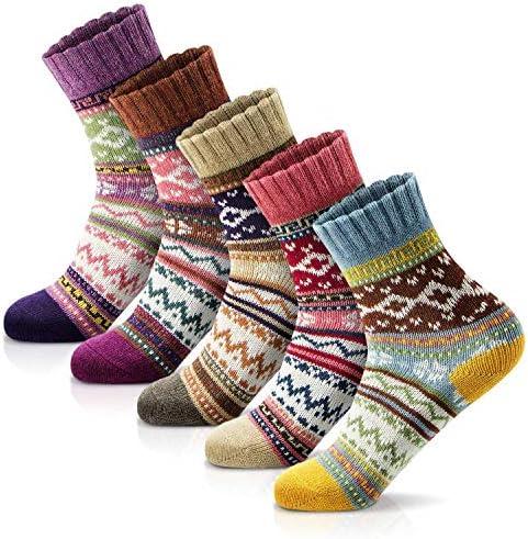 Women Winter Socks Women Socks Warm Thick Soft Wool Socks Christmas Gift Socks for Women Cozy product image