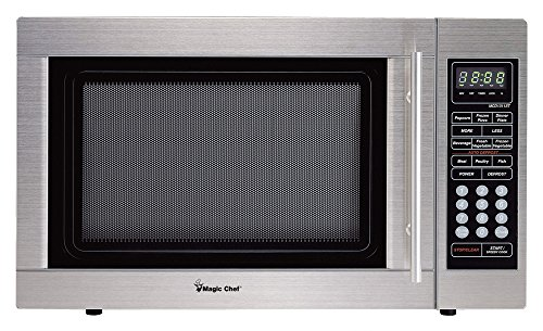 Magic Chef MCD1311ST 1.3cf 1000W S-Steel Microwave