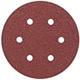 Bosch Professional 2608605718 Hoja de Lija, 0 W, 0 V, Rojo, 150 mm, Set de 5 Piezas
