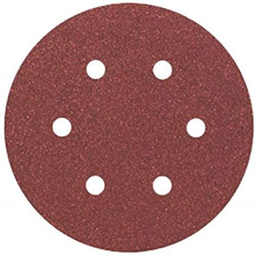 Bosch Professional Disque Abrasif C430 pour Ponceuses Orbitales, 80 Grain, 150mm, Lot de 5, Gris