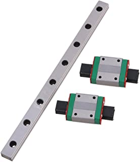 MGN12 200mm Linear Sliding Guideway Rail with Bearing Steel Mini Rail Block Precision Measurement Set