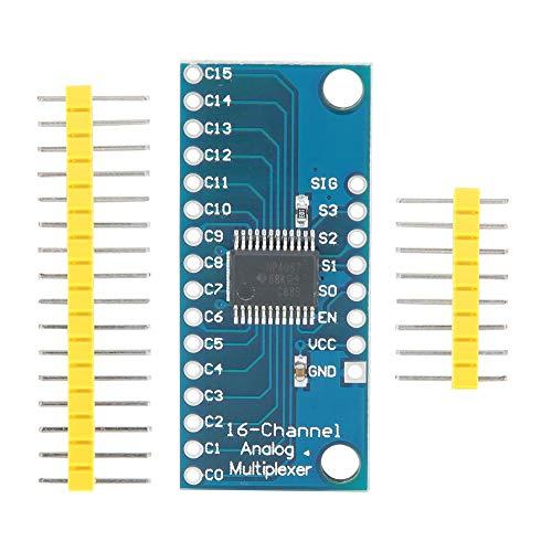 Tangxi 10 STÜCKE CD74HC4067 High Speed CMOS 16-Kanal Analog Digital Multiplexer Demultiplexer Breakout Modul für Arduino