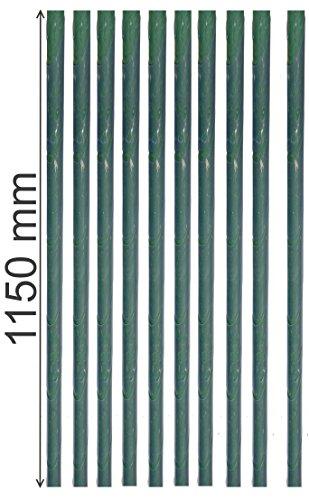 EXCOLO 10Stk. Stammschutz Manschette 115 cm lang als Rindenschutz Wildschutz Baumschutz in transparent