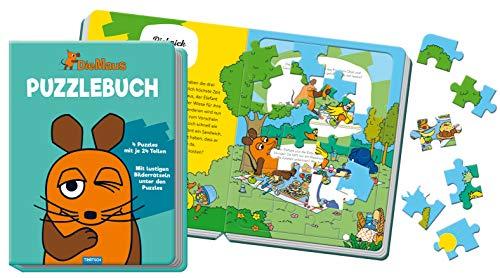 """Puzzlebuch \""""Die Maus\"""": 10 Seiten, 4 Puzzle"""
