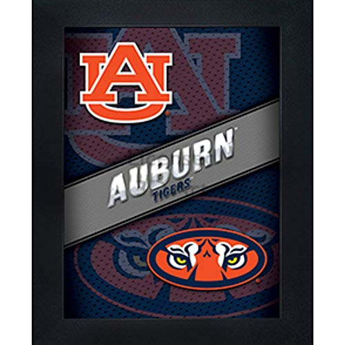 Auburn Tigers 3D Poster Wall Art Decor Framed Print | 14.5x18.5 | UA Lenticular Posters & Pictures | Gifts for Guys & Girls College Dorm Room | NCAA Sports Fan Aubie War Eagles Team Logo & Mascot
