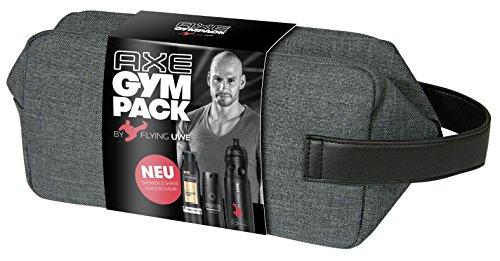 Axe Gympack Flying Uwe inklusive signierter Trinkflasche (1x 200ml, 1x 150ml)