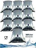 Superfind24 Wasserbeutel, Wassersack, 10x30 Liter Prepper Wasser Notfallvorsorge Beutel sind frei im Raum lagerfähig!
