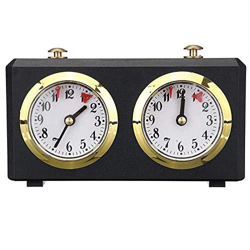 SUNBJ Reloj MECÁNICO para Ajuste Internacional Profesional, Reloj DE Temporizador DE Ajuste I I-GO Cuenta Arriba ARBITA DE Ajuste DE Ajuste DE Madera para NIÑOS/Adultos