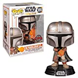 Funko Pop Star Wars The Mandalorian with Flame Exclusivo...