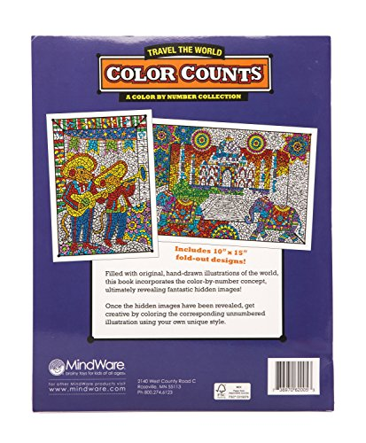 MindWare Color Counts: Travel The World