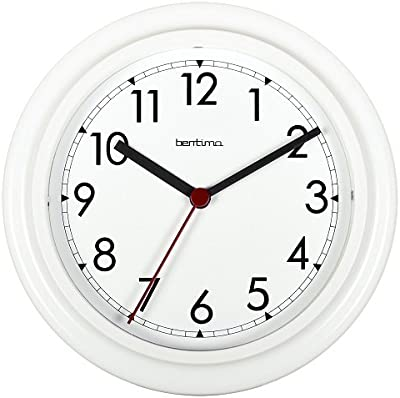 Acctim Stratford Wall Clock White 21242 by Acctim