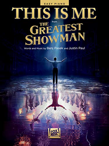 This Is Me (from The Greatest Showman) - EASY PIANO Sheet Music Single - with Lyrics
