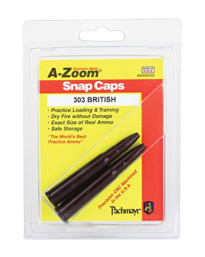 A-ZOOM 303 British Precision Snap Caps (2 Pack)