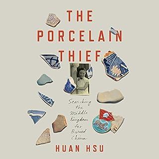 The Porcelain Thief audiobook cover art