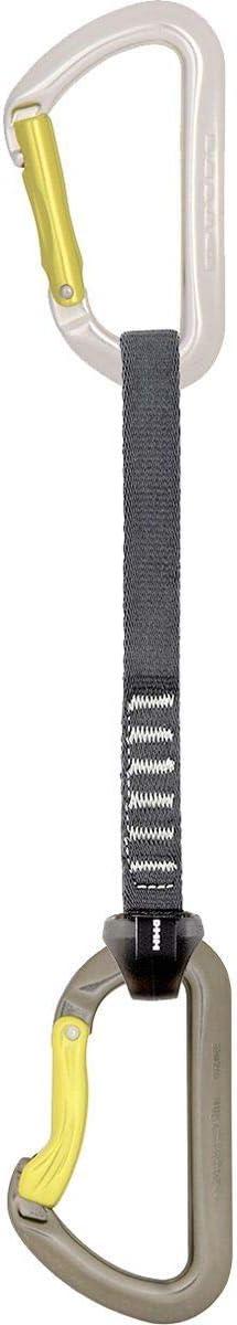 DMM Aero QD Dealing 2021 model full price reduction Carabiner Set with in Gunmet Silver Tape Nylon 18cm