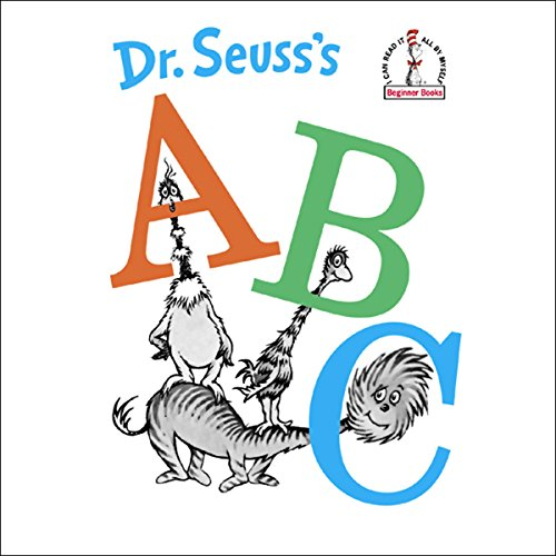 Dr. Seuss's ABC audiobook cover art