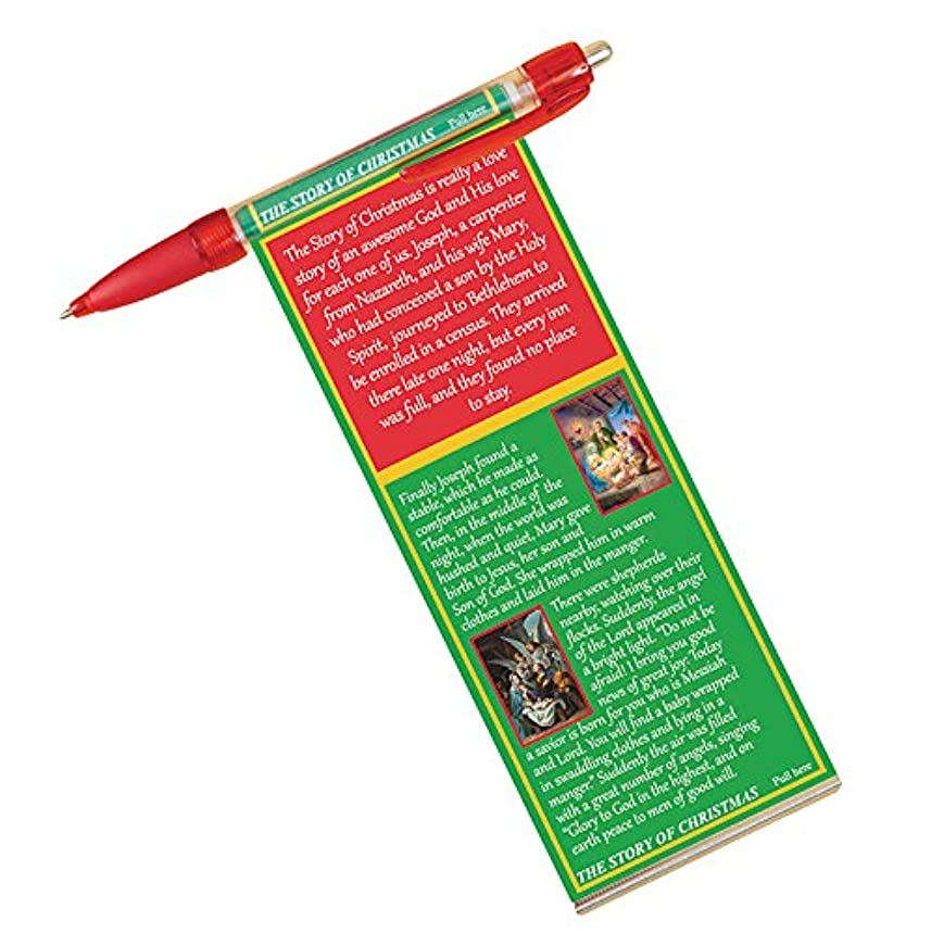 Story of Christmas Banner and Prayer Pen Pack of 6