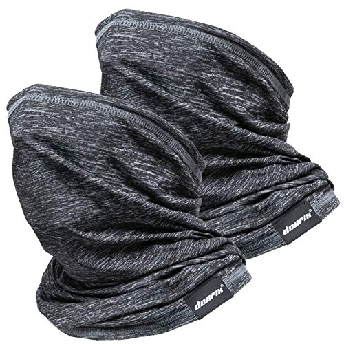 Neck Gaiter Face Mask Reusable, Cloth Face Masks Washable Bandana Face Mask, Sun Dust Protection Balaclava Face Cover Scarf Shield for Fishing Cycling