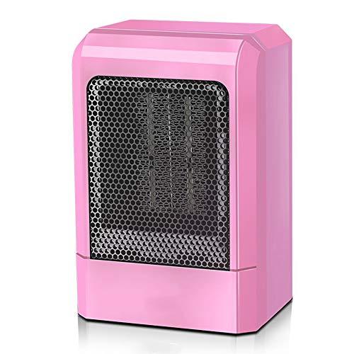 WYW 500w Niveles de Potencia Calefactor,Sistema de Seguridad,silencioso Termostato Ajustable, Depuración de Marchas, para Oficina, Salón, Dormitorio o Terraza,2