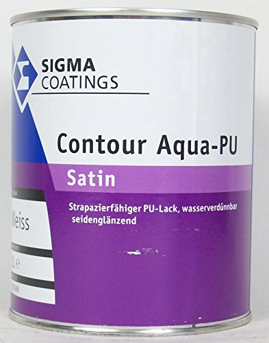 1L Sigma Contour Aqua PU satin weiss