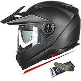 Best Modular Snowmobile Helmets - ILM Motorcycle Full Face Modular ATV Helmet Three Review