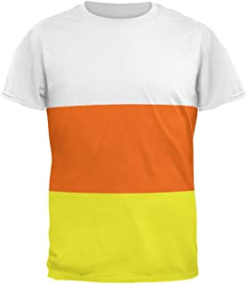 Halloween Candy Corn Costume All Over Adult T-Shirt