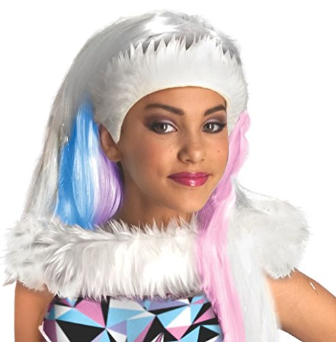 Rubie's-déguisement officiel - Monster High - Perruque Enfant Abbey Bominable- I-52684