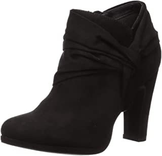 Fergalicious Women's Cheat Ankle Boot, Black, 9