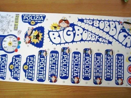 Big Bobby Car Classic Stickers Aufkleberset Police Polizei