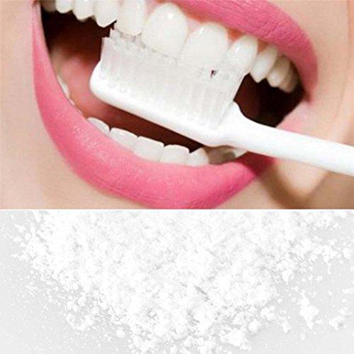 Tefamore Pâte à blanchir les dents Crème dentaire au bambou activée à base de bio organique naturel (D)
