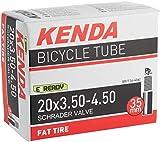 Kenda 20' x 4' Inner Tube Fat Tire Bike Tube - Schrader Valve