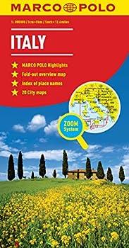 Italy Marco Polo Map  Marco Polo Maps