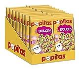 Popitas | Palomitas Listas para Comer Dulces 100g | Caja 16u.