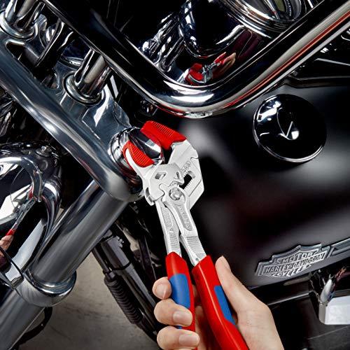 Knipex Zangenschlüssel – Greifzange und Schraubenschlüssel, 250 mm, Greifweite bis 46 mm - 13