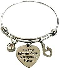 AILUOR Fashion Safety Pin Hook Bangle Bracelet Vintage Punk Classic Simple Love Bracelet Jewelry Unisex