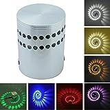 Lampada da Parete Applique da Parete 3W Lampada Da Muro in Alluminio LED Parete Moderna Fa...