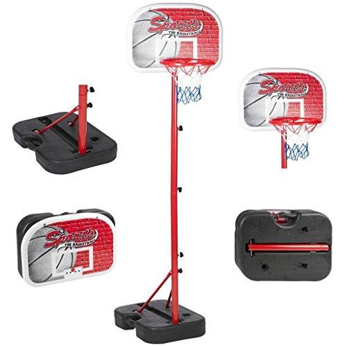 Generic DYHP-A10-CODE-3802-CLASS-1- Set On Wheels els Adjustable Stand ble S Portable Kids Basketball ckboard Net Hoop sketb Backboard With le Kids -NV_1001003802-HP10-UK_1217