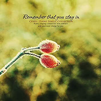 Stay in the memory of you