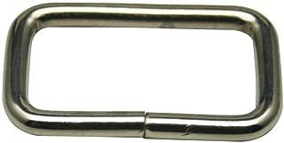 Generic Metal Silvery Rectangle Buckle 2