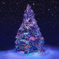 LEDイルミネーションライト ジュエリーライト 100球 10m 電池式 リモコン付 8パターン 点滅 点灯 タイマー機能 防水 防塵仕様 屋外 室内 ガーデンライト 正月 クリスマス 飾り ストリングライト