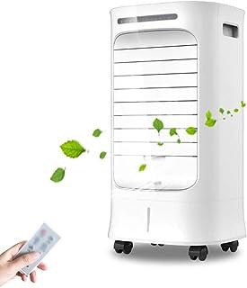 LIU - Ventilador de aire acondicionado, enfriador de suelo doméstico para añadir agua, añade un enfriador de aire de tipo enfriamiento de hielo único