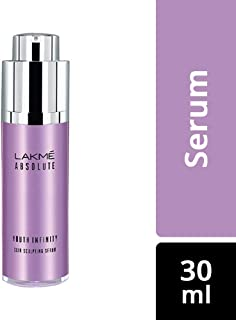 Lakme Absolute Youth Infinity Skin Sculpting Face Serum with Niacinamide, Collagen Booster and Vitamin A for Anti-Ageing, ...