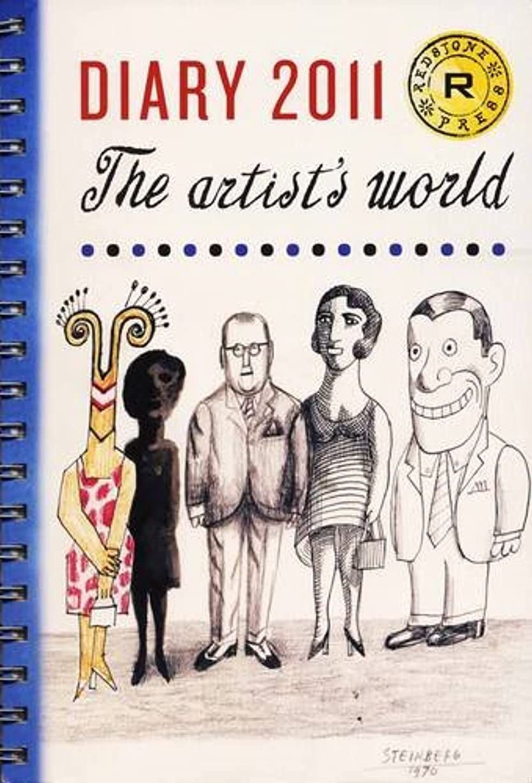 率直な暗記するインフルエンザThe Redstone Diary 2011: The Artist's World