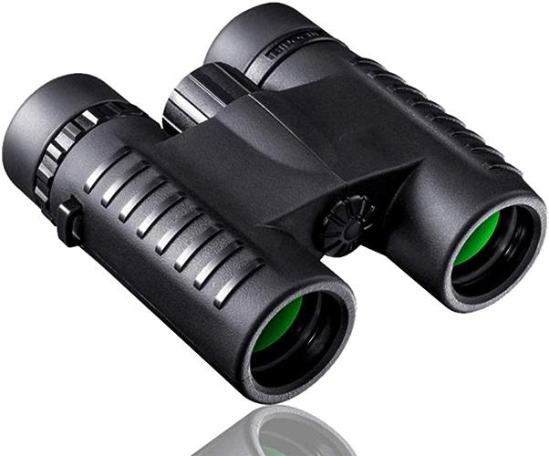 GWO Télescope Jumelles Enfants Adultes Observant Les Oiseaux, Jumelles Compactes Enfants Mini Télescope Léger Imperméable à l'eau Jumelles De Vision Nocturne Pliable